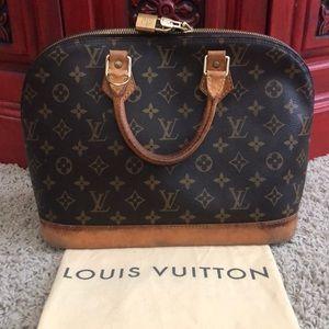 Vintage Louis Vuitton Monogram Purse